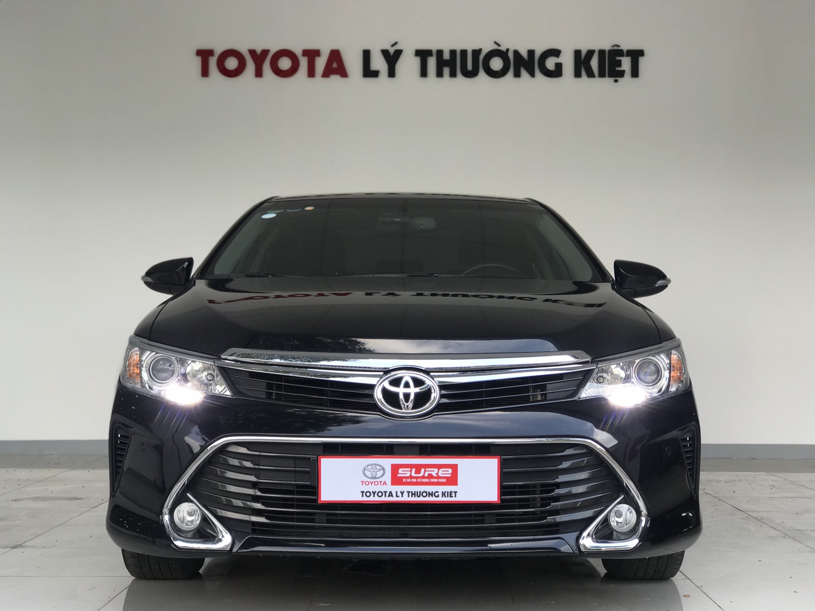 TOYOTA CAMRY 2.5Q (AT) - Date 2017
